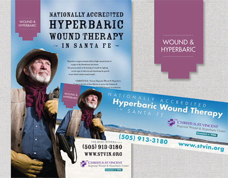 Regional Wound & Hyperbaric Center Display Ads